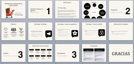 Cómo preparar una propuesta y presupuesto de redes sociales [Incluye plantillas] | Social Media Marketing by Vilma Núñez | Marketing D | Scoop.it