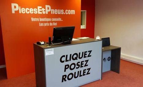 Piecesetpneus.com ouvre des boutiques en franchise #web2store | Web-to-Store | Scoop.it