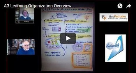 Creating an A3 Learning Org in 5 videos by Bob Petruska | Interview by Joe Dager of Business901 | TLS - TOC, Lean & Six Sigma | Scoop.it