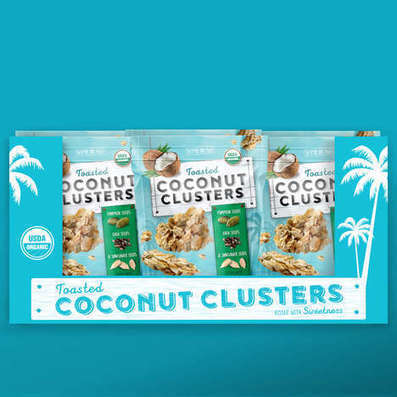 Tropical Coconut Snack Packaging : coconut snack | Eat Drink Coconut News Daily | Scoop.it