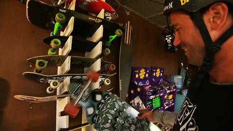 Bob Burnquist mostra depósito onde guarda seus vários skates diferentes | ESPORTES - DESAFIOS | Scoop.it