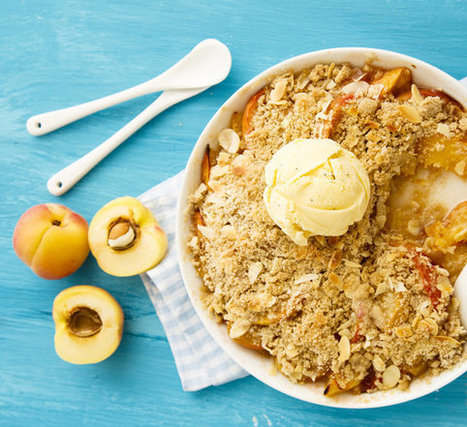 The 6-Ingredient Vegan Peach Cobbler You'll Want To Make Tonight | Vegan Food | Scoop.it