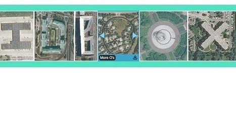 Insolite et génial : Ecrire avec des images satellites   Veille pour rire ou sourire   Scoop.it