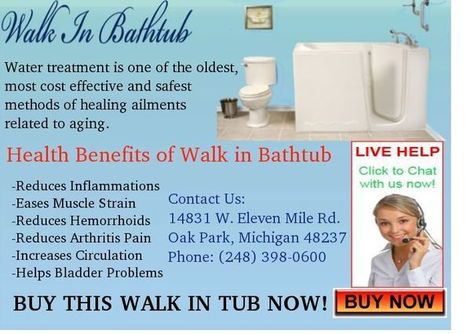 Health Benefits of Walk in Bathtub | Kitchen Bath Store | Scoop.it