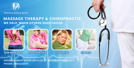 Hire Best Massage Therapy Services in Waterloo | waterloo chiropractic | Scoop.it