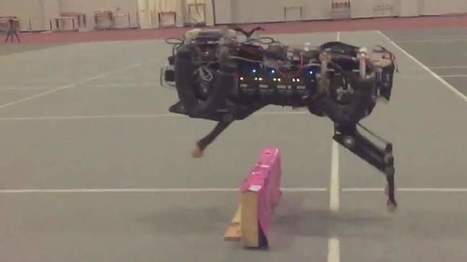 Robot Cheetah uses Laser Sight to Jump Obstacles | Technology in Business Today | Scoop.it