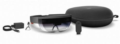 Hololens : que cachent les lunettes holographiques de Microsoft ? | Post-Sapiens, les êtres technologiques | Scoop.it