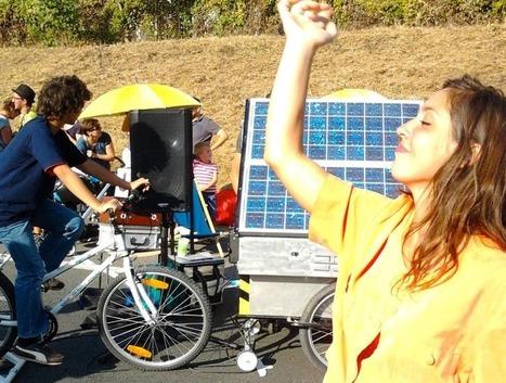 La sono solaire qui fait de l'écologie une fête | WE DEMAIN. Une revue, un site, une communauté pour changer d'époque | Scoop.it