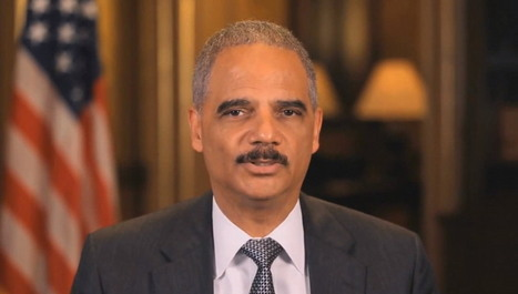 Watch: Eric Holder Announces Federal Gov't Expands Marriage Recognition To Five More States | LibertyE Global Renaissance | Scoop.it