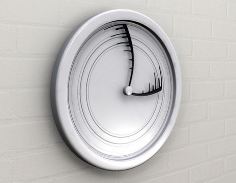 Time Flies - Wall Clock by Igor Vig | DeZign | Scoop.it