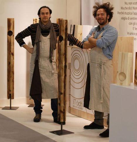 iTòch: il legno che suona e diventa hi-tech / Wood that sounds and becomes hi-tech   iShopps   Shopping - Retail - Brands   Scoop.it