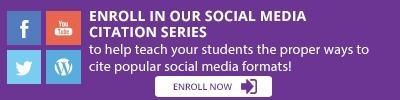 Resource Highlight: Social Media Citation Series | EasyBib Blog | EasyBib | Scoop.it