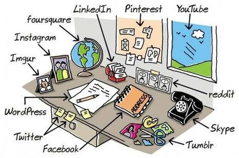 Voilà à quoi ressemblaient les réseaux sociaux avant internet http://twitter.yfrog.com/es75336566p | Professor do Século XXI | Scoop.it