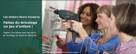 Ateliers Bricolage Bosch Academy | La gazette des bricoleurs | Scoop.it