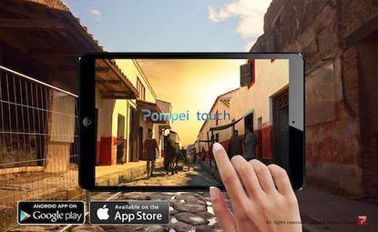 Pompei Touch, l'antica Pompei ricostruita a portata di mano | Usos educativos de las tecnologías | Scoop.it