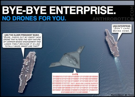 Retiring USS Enterprise and the X-47B Shall Never Find Romance | anthrobotic.com | Scoop.it