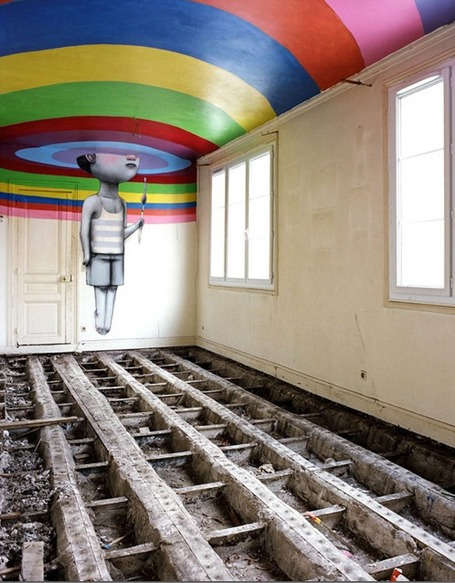 Les Bains – The secret street art gallery in Paris | World of Street & Outdoor Arts | Scoop.it