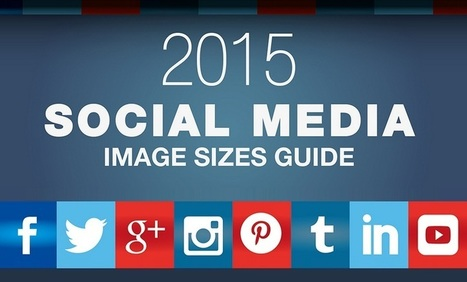 The Complete Guide to #SocialMedia Image Sizes 2015 - #infographic | E-learning with the Ltrain | Scoop.it