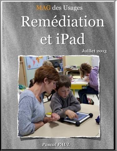 Remédiation et ipad – Un livre pour favoriser l'inclusion à l'école - TICE – espace des usages   AlainLarhant   Scoop.it
