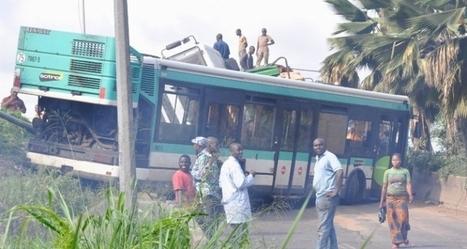 WWW.IMATIN.NET :::: Drame: Un bus de la Sotra fait un accident. Le chauffeur est mort. 33 blessés graves...   Cote Ivoire   Scoop.it