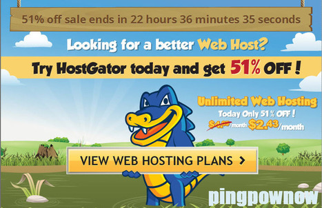 Coupon Hosting discount 51% OFF - OHSNAPPY | Promo giveaway | Scoop.it