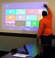 Turn Any Surface Into A Touch Screen With Kinect | Just Kinect'ing | Scoop.it