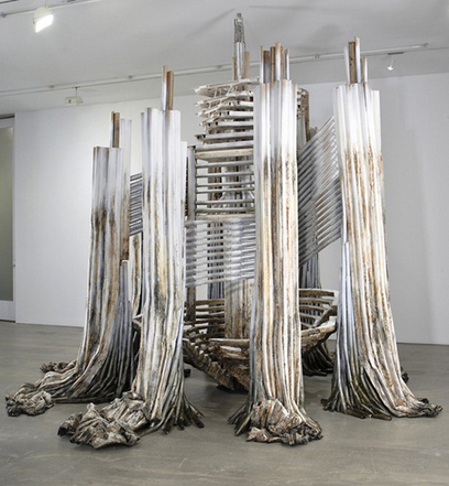 "Diana Al-Hadid: ""The Tower of Infinite Problems"" 