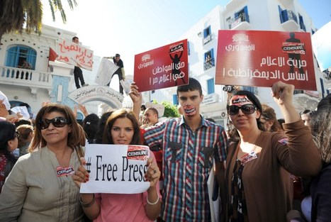 Tunisie: le pouvoir cède à une revendication phare des médias en grève   DocPresseESJ   Scoop.it