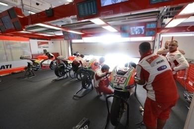 Rossi looks confident - interview | Ducati news | Scoop.it