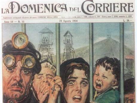 Marcinelle, la tragedia dei «musi neri» italiani | Risk Management | Scoop.it