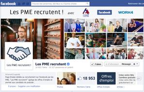 Recrutement sur Facebook : à quand ledécollage? | Le recrutement des étudiants et jeunes diplômés | Scoop.it