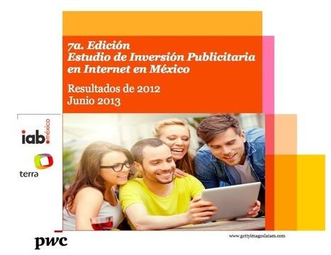 Supera los 6 mil 397 millones de pesos la inversión publicitaria en Internet en México con un crecimiento de 38% en 2012 | IAB MEXICO | Comparación en la calidad estética del Diseño publicitario entre México y Estados Unidos. | Scoop.it