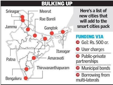Politics stretches list of Smart Cities from 100 to 109   Smart cities in the global south   Scoop.it