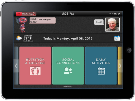 Startup looks to simplify iPad interface for dementia patients | mobihealthnews | myHealthcareWorld | Scoop.it