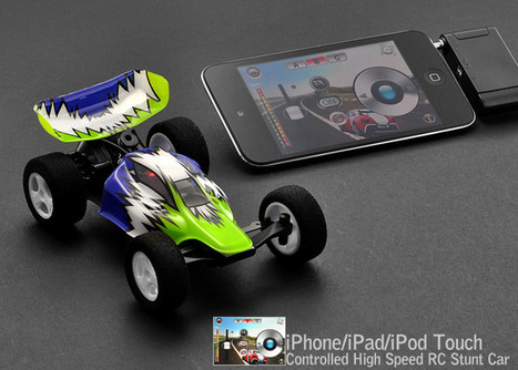 iPhone/iPad/iPod Touch Controlled High Speed RC Stunt Car | Technology and Gadgets | Scoop.it