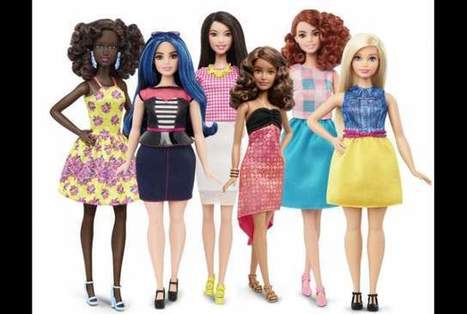 Barbie Gets The Makeover The World Has Been Waiting For: More Diverse Body Types | Level 1 Sexuality Education | Scoop.it