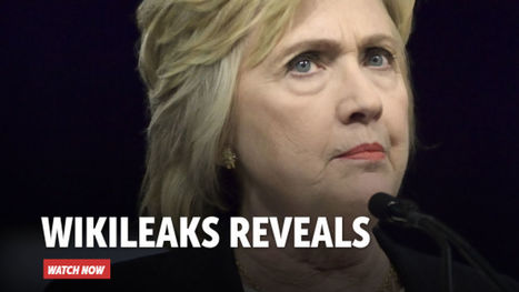 WikiLeaks Exposes Plot to Discredit Clinton Email Investigation | Global politics | Scoop.it