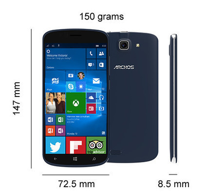 Archos 50 Cesium Windows 10 Mobile handset now available to purchase | Windows Phone - CompuSpace | Scoop.it