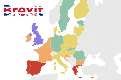 Brexit : Quelle exposition des pays européens à un possible reflux du tourisme britannique ? | Le tourisme pour les pros | Scoop.it