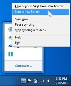 Sync SkyDrive Pro or SharePoint site libraries to your computer - support - Office.com | Technology and Education Resources | Scoop.it