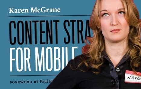 With All Content Moving Mobile, Karen McGrane Writes, The API's The Thing - Forbes | mobile studies | Scoop.it