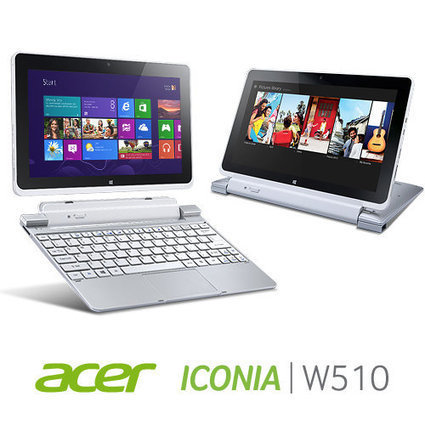 Acer Iconia W510-1422 10.1-Inch 64 GB Tablet with Keyboard Dock (Silver) »   Technology   Scoop.it