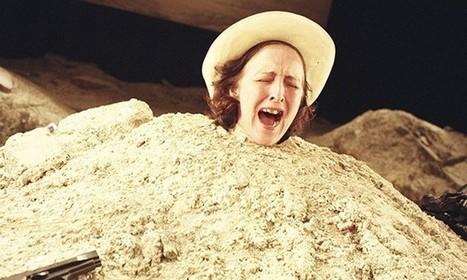 What lies beneath Samuel Beckett's half-buried woman in Happy Days? | The Irish Literary Times | Scoop.it
