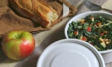 Healthy Kale Salad With Apples and Almonds - Care2.com | Fitness and Weight loss | Scoop.it