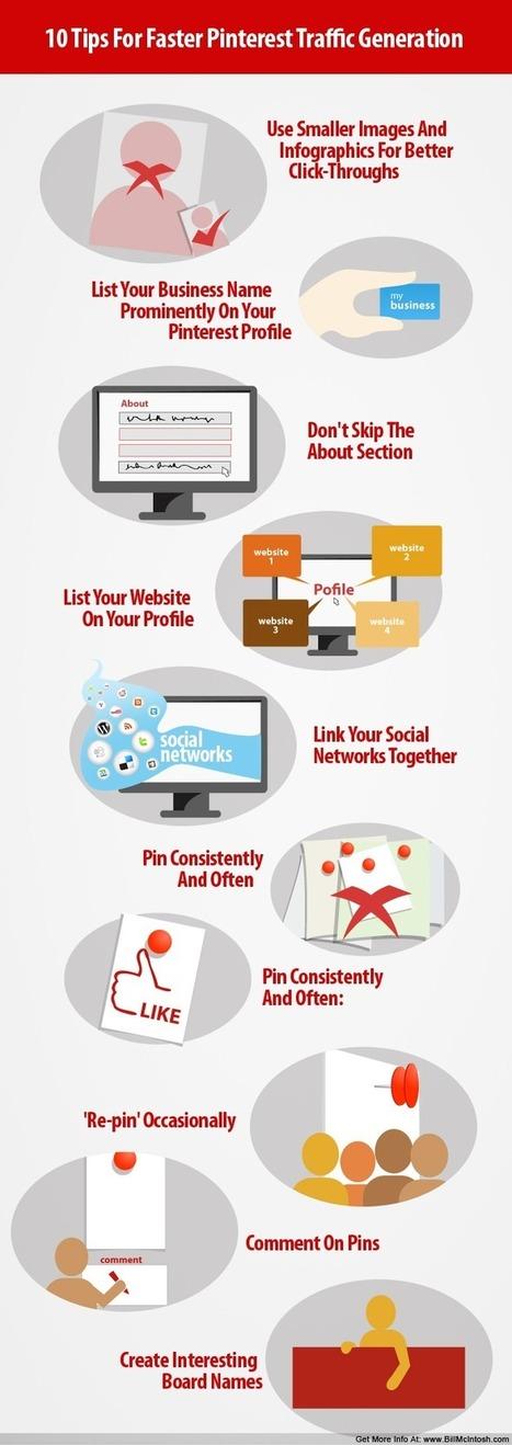 10 usos adecuados para darle a Pinterest | VI Tech Review (VITR) | Scoop.it