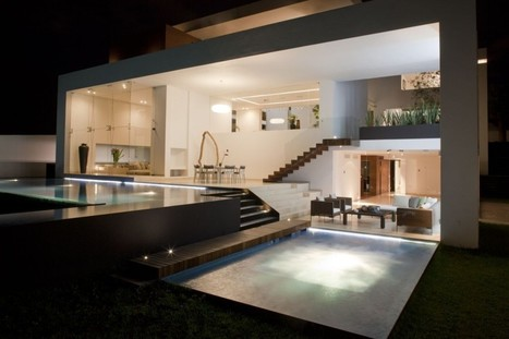 Sustainable House Integrating Well-Defined Volumes by Almazán Arquitectos | Breathtaking Architecture | Scoop.it