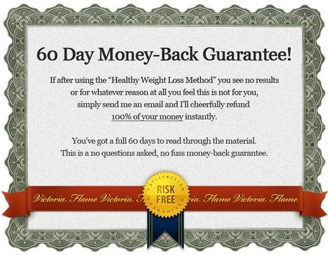 Victoria Flame's Healthy Weight Loss Method® - 2011's Bestseller, Join Hundreds Who Already Lost Dozens of Pounds! | Natural Solutions For Women's Health and Beauty | Scoop.it