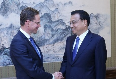 Premier Li urges negotiations on China-EU joint investment fund | glObserver Global Economics | glObserver Asia | Scoop.it