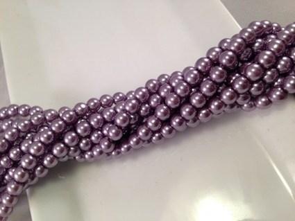 6mm Glass Pearl handmade jewelry supplies 100pc | AvendesoraArtJewelry - Jewelry on ArtFire | HandmadeArtJewelry | Scoop.it