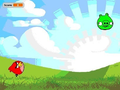 Creating a Simple 'Angry Birds' Style Game in Scratch - Simon Haughton's Blog | Disruptive Nostalgia in Education UK | Scoop.it